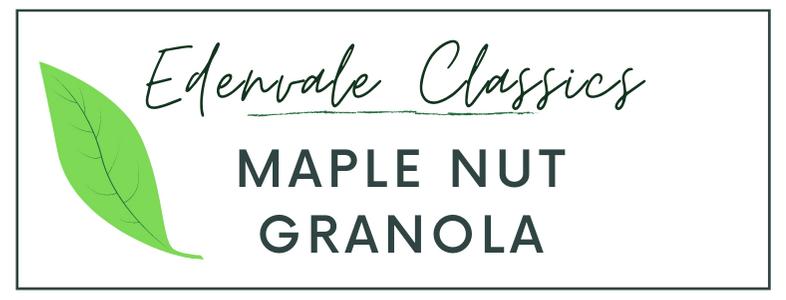 Maple Nut Granola - Small